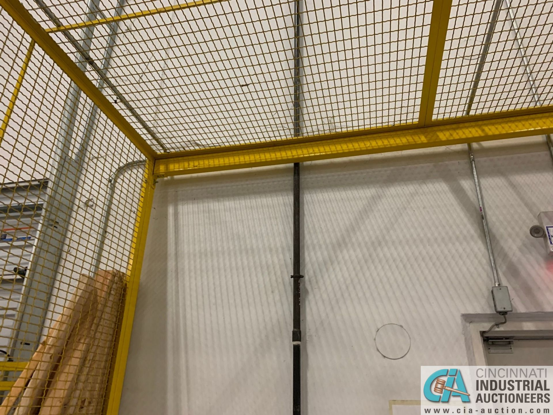 SAFETY CAGE - BACK DRIVERS (5400 OAKLEY INDUSTRIAL BLVD., FAIRBURN, GA 30213) - Image 4 of 7