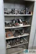 (LOT) 2-DOOR CABINET WITH PUNCH TOOLING