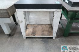"36"" X 24"" X 4"" GRANITE SURFACE PLATE W/ STAND"