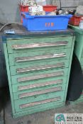 7-DRAWER VIDMAR CABINET WITH PUNCH TOOLING