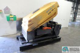 ATLAS COPCO MODEL XAS-185 DIESEL POWERED SKID MOUNTED PORTABLE AIR COMPRESSOR