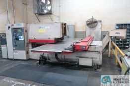MURATA / WIEDEMANN MODEL 3000Q CNC TURRET PUNCH; S/N 741, FANUC LP CONTROLS, (2) AUTO INDEXS