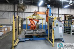 """ABB MODEL IRB6400RM2000 5-AXIS ROBOT; S/N 625229 WITH 64"""" ROTARY TABLE (2003)"""