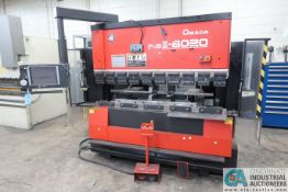 "88 TON X 78"" AMADA FBD-8020NT CNC PRESS BRAKE; S/N 80203133, BACK GAGE (2007)"