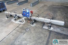 500 KG X 28' SCHMALTZ MODEL VACUMASTER BASIC-500/750H VACUUM SHEET LIFTER; S/N 21607069/001 (2016)