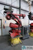 COMAU ROBOTICS MODEL SMART NH1-100-3.2P PRESS BOOSTER ROBOT; S/N 1190 WITH CONTROL (2005)