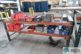 (LOT) MISC. PRESS BRAKE DIES, PUNCHES & TOOLING