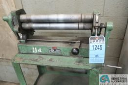 "18"" DI-ACRO NO. 3 MANUAL ROLL; S/N 1-1123"