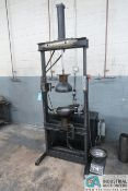 """10"""" HYDRAULIC HALF SHELL CANISTER PRESS; 5-HP"""