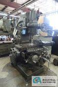 MILWAUKEE MODEL K VERTICAL MILLING MACHINE; S/N 16-3668