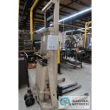 2,000 LB. CAPACITY CROWN MODEL 20BT ELECTRIC WALK BEHIND STACKER; S/N 1A110243, WITH BUILD IN