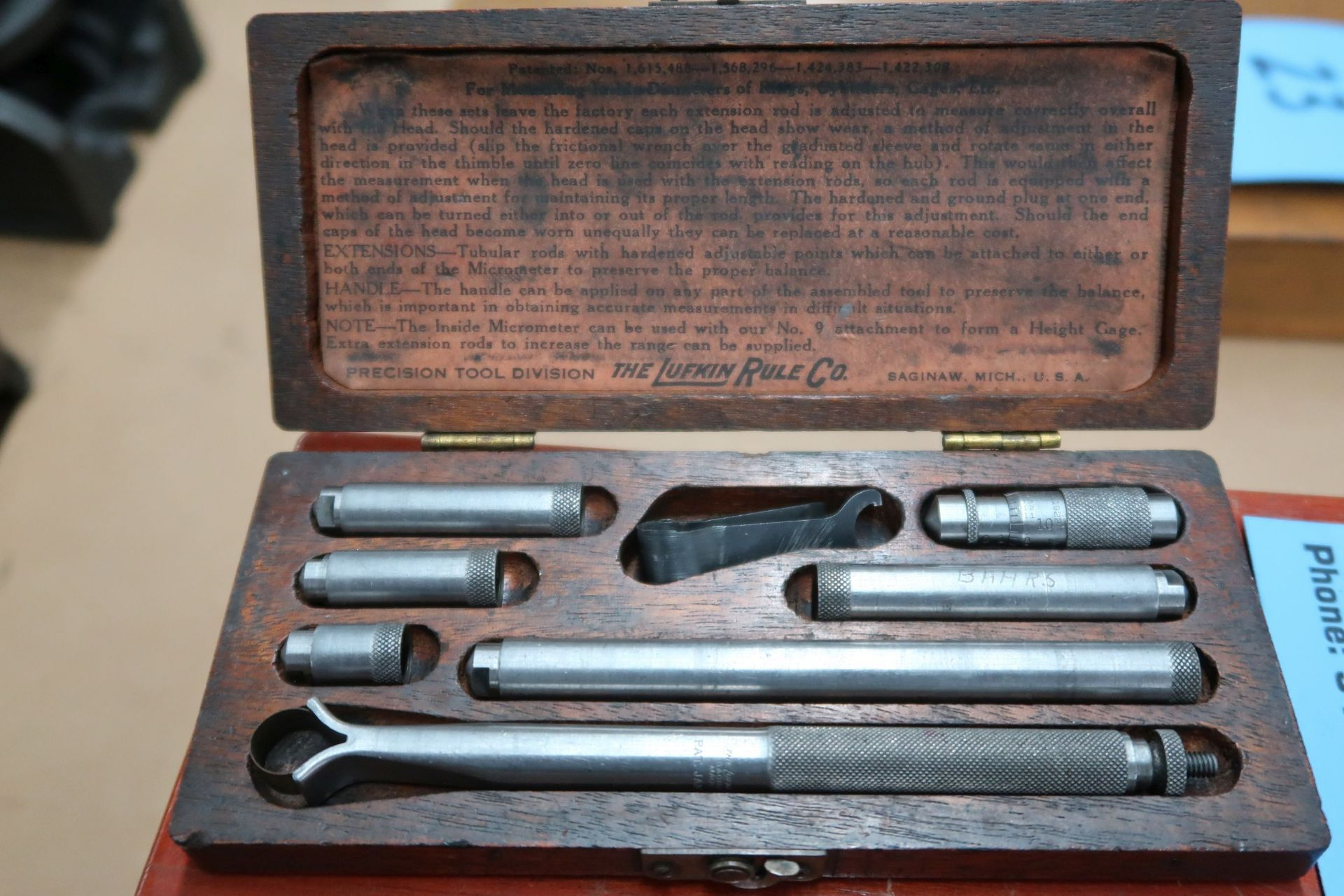 INSIDE MICROMETER SETS - Image 2 of 5