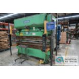 "50 TON X 8' NIAGARA MODEL 50-6-8 PRESS BRAKE; S/N 32446, 3"" STROKE, 4"" RAM ADJUST, LINK LITE BLACK"