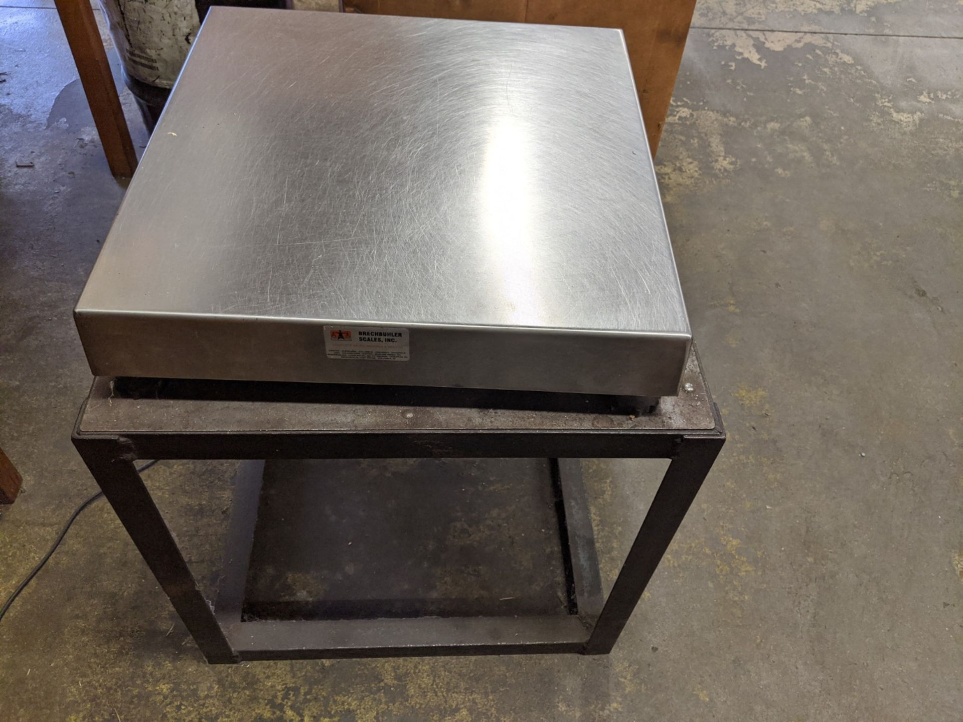 "GSE DIGITAL COUNTING SCALE WITH 20""X20"" PLATFORM - Image 2 of 3"