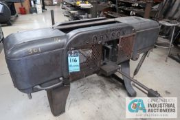 "9"" X 16"" JOHNSON HORIZONTAL BAND SAW"