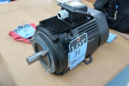 HITACHI TYPE VTFO-FK THREE-PHASE INDUCTION MOTOR; 2830 RPM (NEW)