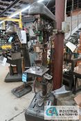 """17"""" DELTA FLOOR DRILL; S/N 94-7803, WITH PROCUNIER SIZE #3 HIGH SPEED TAPPING ATTACHMENT"""