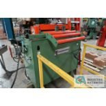 "FEED LEASE FEED EQUIPMENT MODEL PF-2.5-24 SERVO FEED LINE; S/N 5269, CAPACITY .090"" AT 24"" CRMS,"