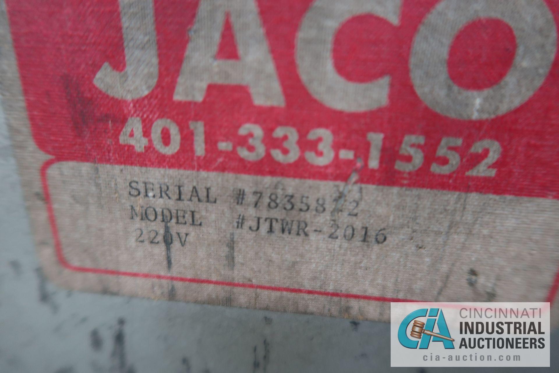 2,000 LB. CAPACITY JACO MODEL JTWR-2016 COIL REEL; S/N 783582 - Image 4 of 4