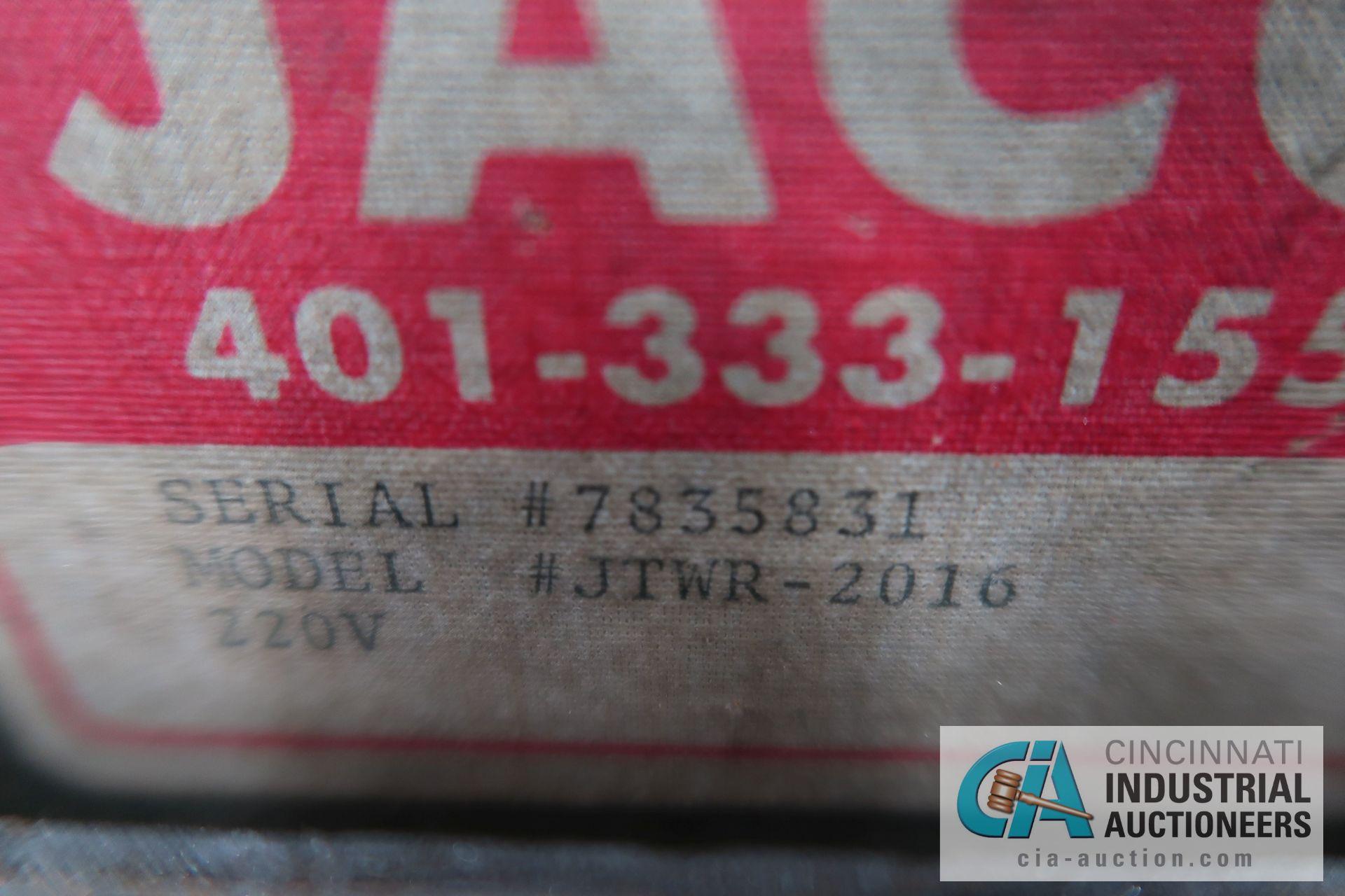 2,000 LB. CAPACITY JACO MODEL JTWR-2016 COIL REEL; S/N 7835831 - Image 5 of 5