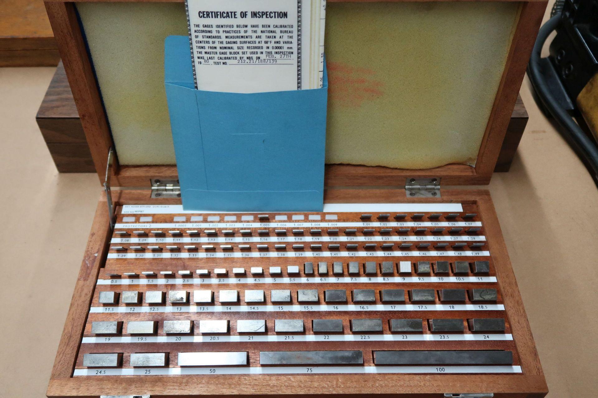 1.005 - 100 FOWLER METRIC BLOCK GAGE SET - Image 2 of 2