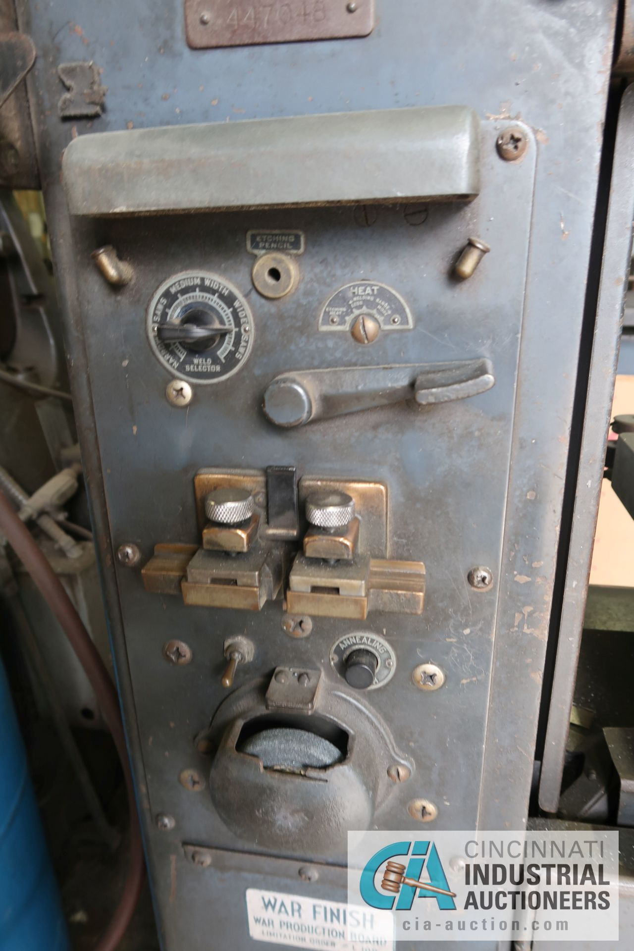 """16"""" DOALL MODEL ML VERTICAL BAND SAW; S/N N/A, WITH BLADE WELDER - Image 2 of 2"""