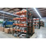 """SECTIONS 84"""" X 24"""" X 132"""" ADJUSTABLE BEAM PALLET RACK **RACKING ONLY - DELAYED REMOVAL - PICK UP 10"""