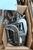 (LOT) MISC. C-CLAMPS