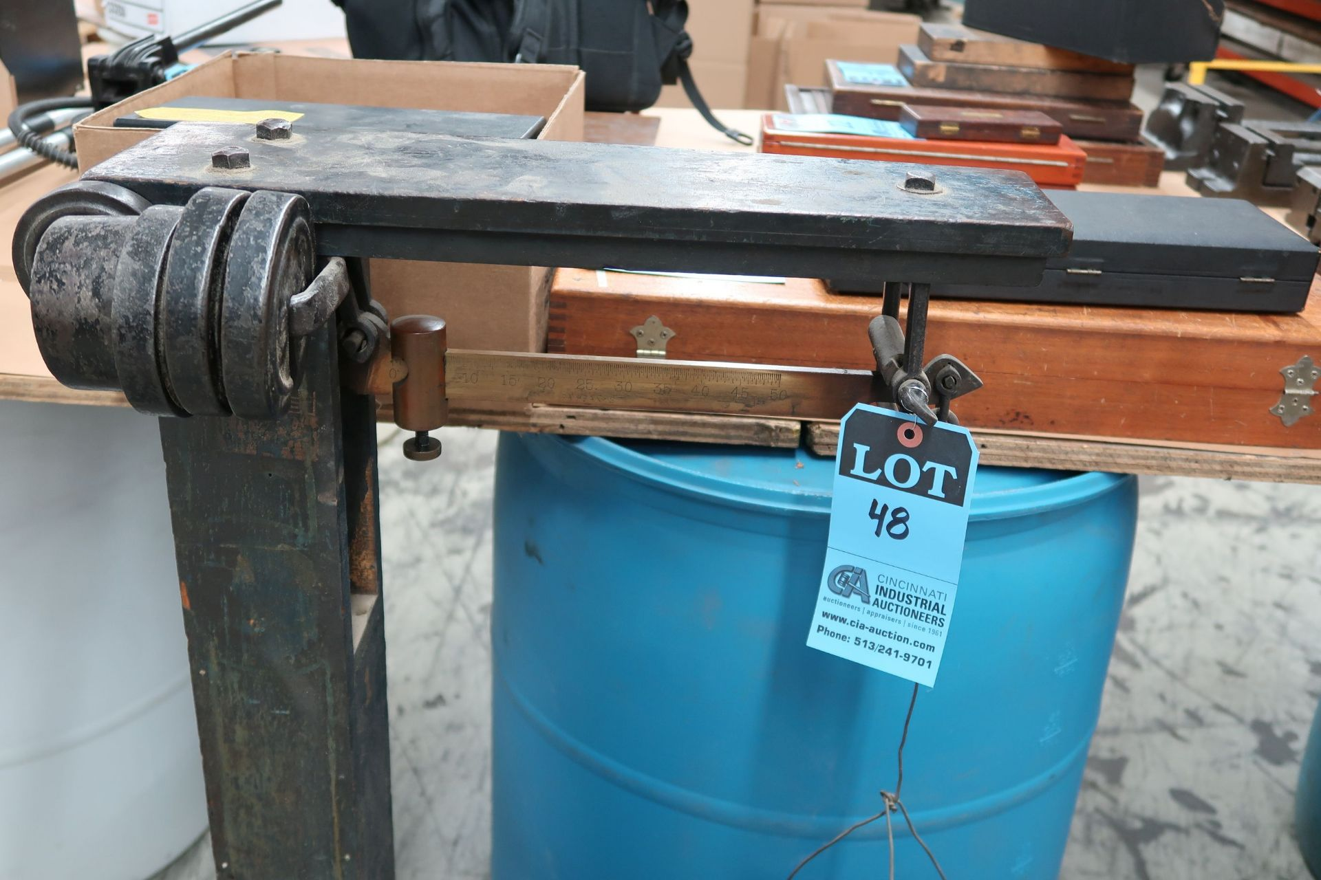 500 LB. PORTABLE SCALE - Image 2 of 2
