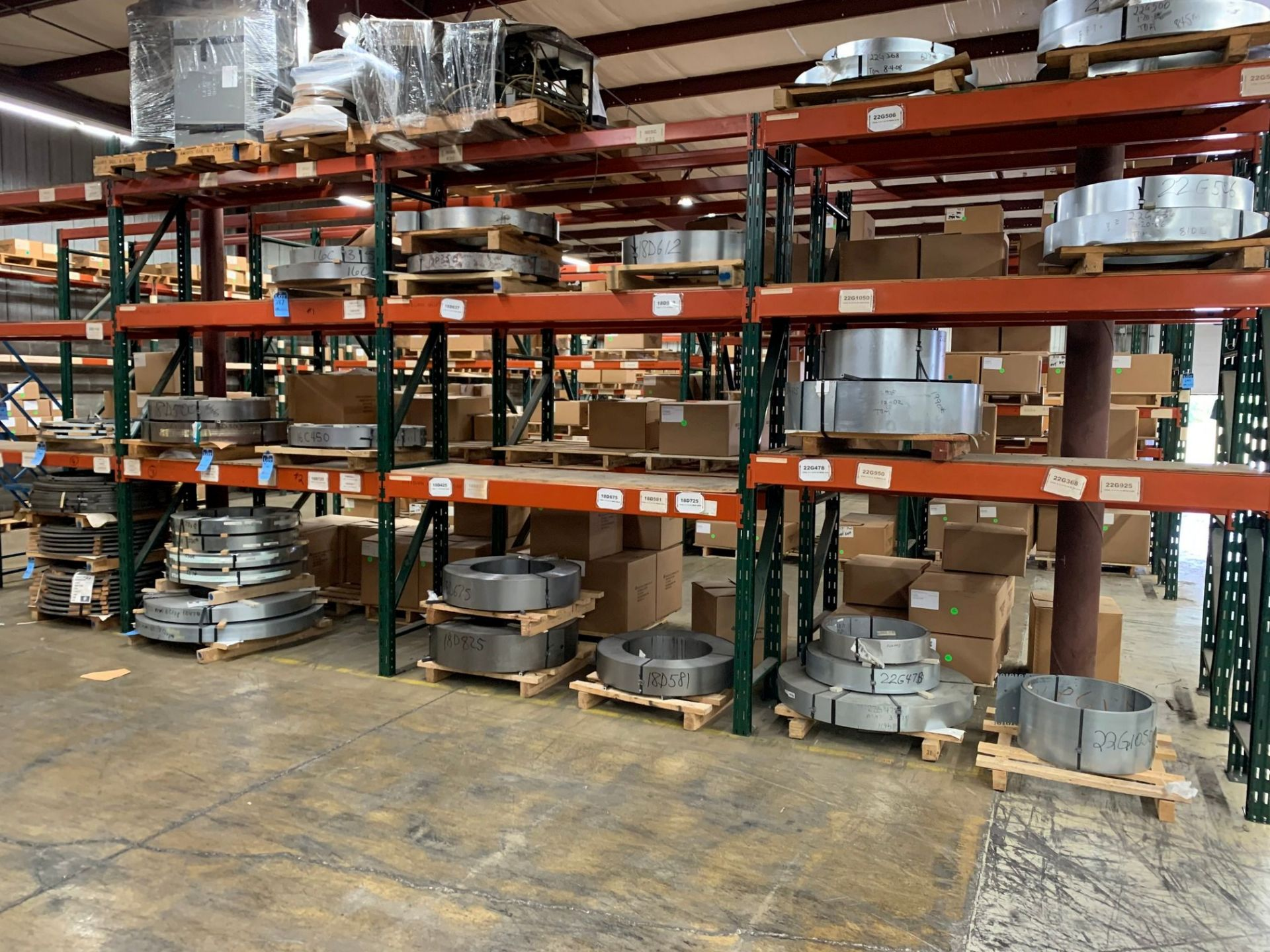 SKIDS OF MISCELLANEOUS STEEL COIL STOCK - Image 2 of 2