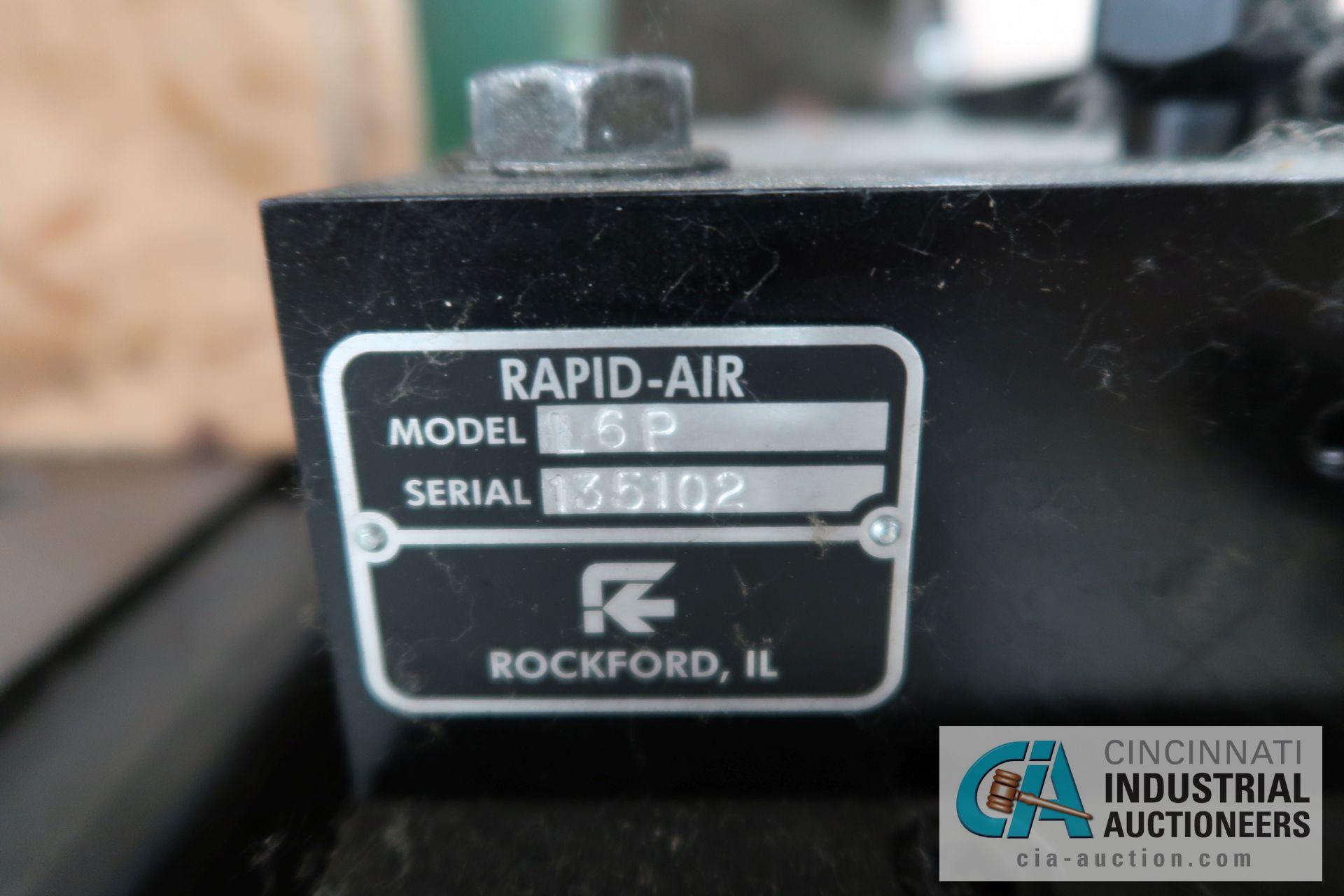 """60 TON L&J MODEL W-60 FLYWHEEL TYPE OBI PRESS; S/N 50B270A, 5"""" STROKE, 3"""" ADJUST, 36"""" X 24"""" RIGHT TO - Image 6 of 8"""