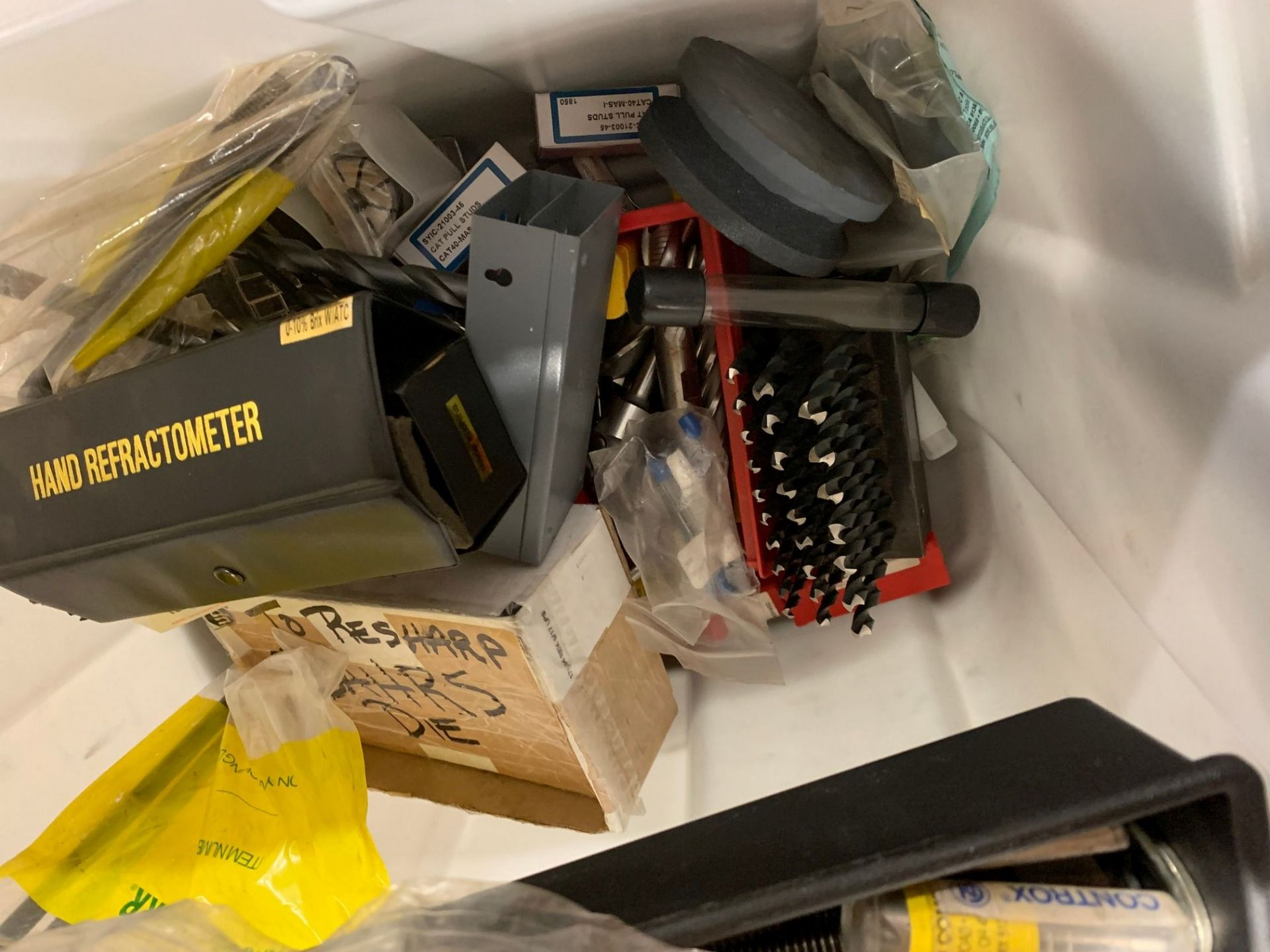(LOT) DRILL INEXES, REFRACTOMETER & MISC. - Image 2 of 2