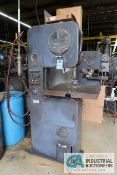 "16"" DOALL MODEL ML VERTICAL BAND SAW; S/N N/A, WITH BLADE WELDER"