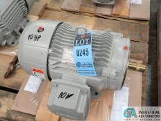 10 HP SEIMENS TYPE SD100 IEEE ELECTRIC MOTOR, 3,515 RPM (NEW)