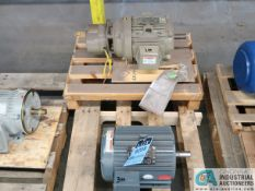 3 HP GE AND LINCOLN ELECTRIC MOTORS (NEW)