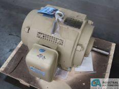30 HP GE CAT E735 ELECTRIC MOTOR, 1,775 RPM (NEW)