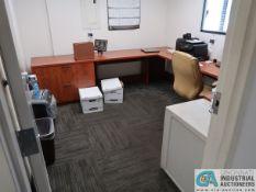 CONTENTS OF OFFICE INCLUDING U-SHAPE DESK