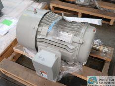 25 HP SIEMENS TYPE SD100 IEEE ELECTRIC MOTOR, 1,775 RPM (NEW)