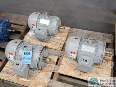3 HP SIEMENS ELECTRIC MOTORS (NEW)