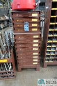 2-DRAWER HARDWARE CABINET WITH MISCELLANEOUS HARDWARE