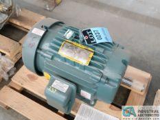 15 HP BALDOR CAT ECP82333T-4 ELECTRIC MOTOR, 2,700 RPM (NEW)