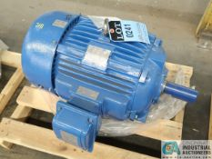 15 HP WESTINGHOUSE TYPE AEHH8B ELECTRIC MOTOR, 1,175 RPM (NEW)