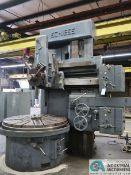 """60"""" SCHIESS VERTICAL TURRET LATHE; S/N N/A, 5-POSITION TURRET"""