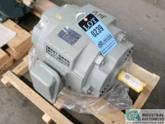 15 HP WESTINGHOUSE TYPE ASHHUN ELECTRIC MOTOR, 1,770 RPM (NEW)