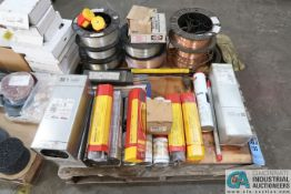 (LOT) MISCELLANEOUS WELDING WIRE AND ELECTRODES