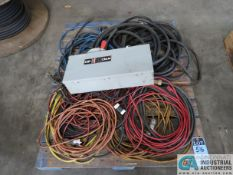 (LOT) EXTENSION CORDS