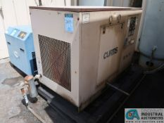 30 HP CURTIS MODEL R/S30 ROTARY SCREW AIR COMPRESSOR; S/N 16L99003, 68,354 HOURS