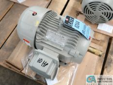 10 HP SEIMENS TYPE SD100 IEEE ELECTRIC MOTOR, 1,755 RPM (NEW)