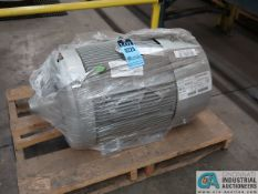 40 HP SIEMENS TYPE SD100 IEEE ELECTRIC MOTOR, 1,185 RPM (NEW)