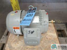 5 HP SIEMENS TYPE SD100 IEEE ELECTRIC MOTOR, 1,755 RPM (NEW)